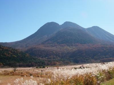 山々も秋の装いです^^