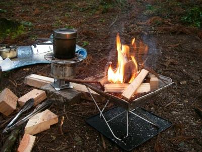 ご飯を炊きながら・・・