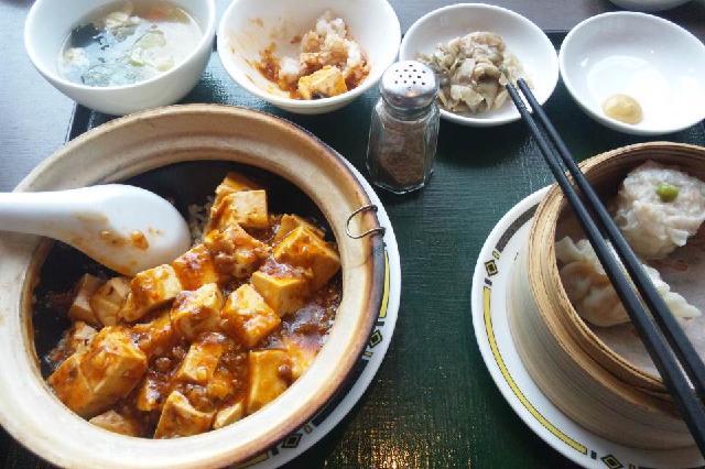 焼き麻婆豆腐