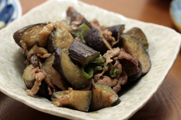 2014-02-06なすと豚肉の味噌だれ炒め.JPG