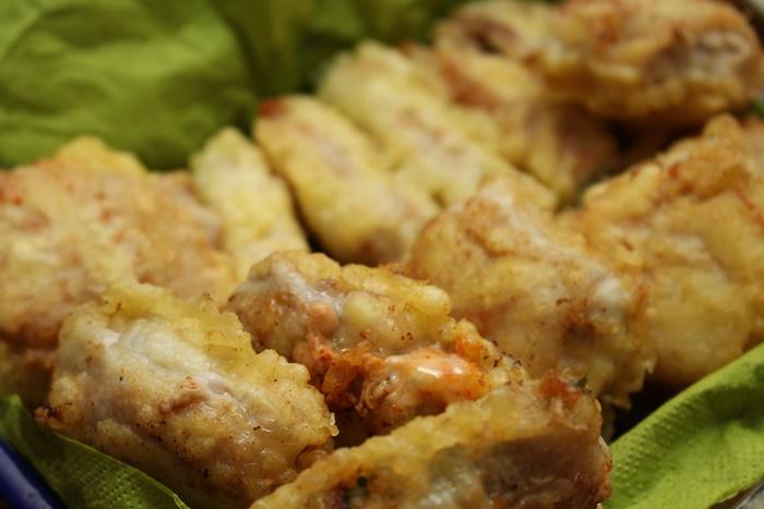 2016-11-03大葉とキムチとチーズの豚巻き天ぷら.JPG
