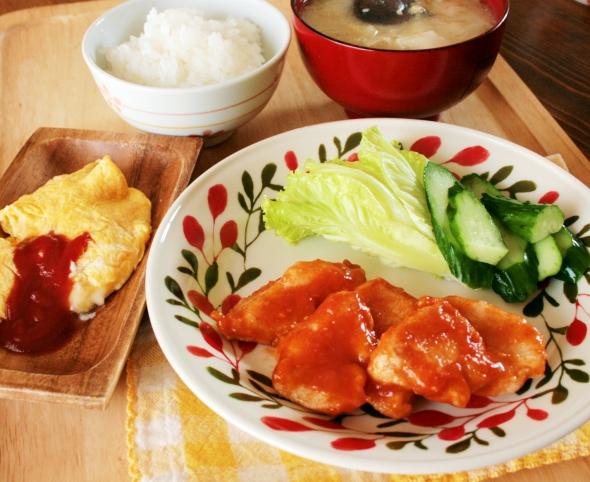2012-09-22鶏チリランチ.JPG