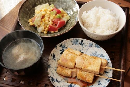 2013-10-16豆腐と鶏胸の焼き鳥1.JPG