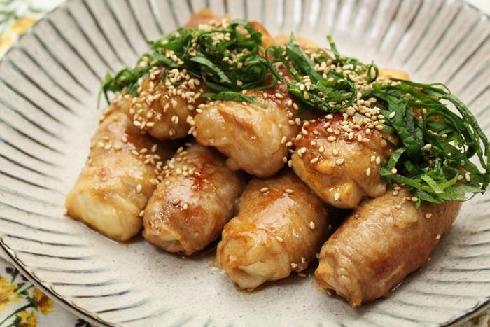 2016-11-28豆腐の豚肉巻き照り焼き.JPG
