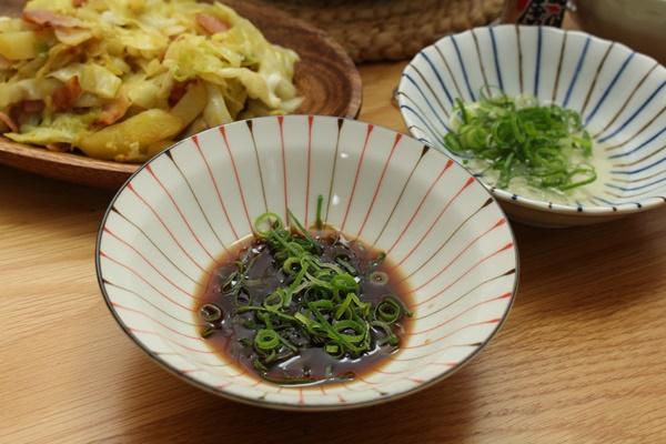 2016-11-30湯豆腐 2種のポン酢.JPG