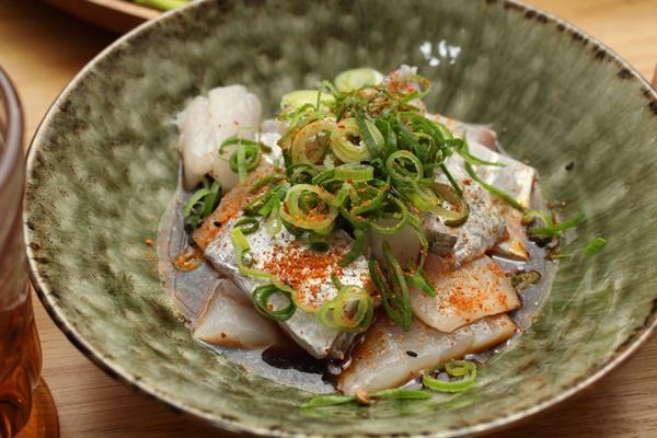 2016-12-03太刀魚の一味ポン酢.JPG