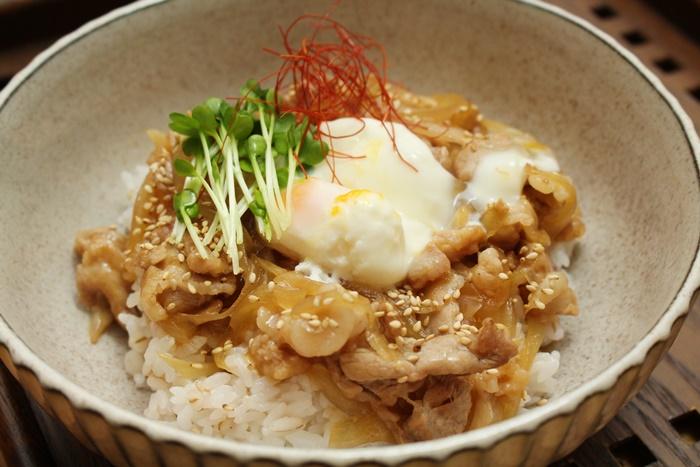 2016-12-07豚の生姜焼き丼.JPG