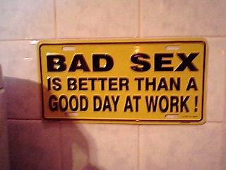 BAD SEX???
