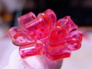 プラバンの花リボン1