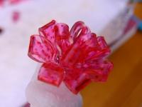 プラバンの花リボン3