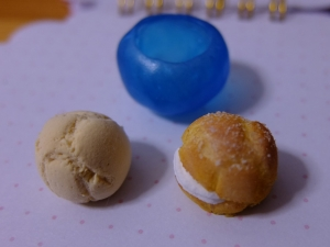 シュークリーム型取り