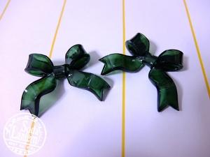 深緑リボン1