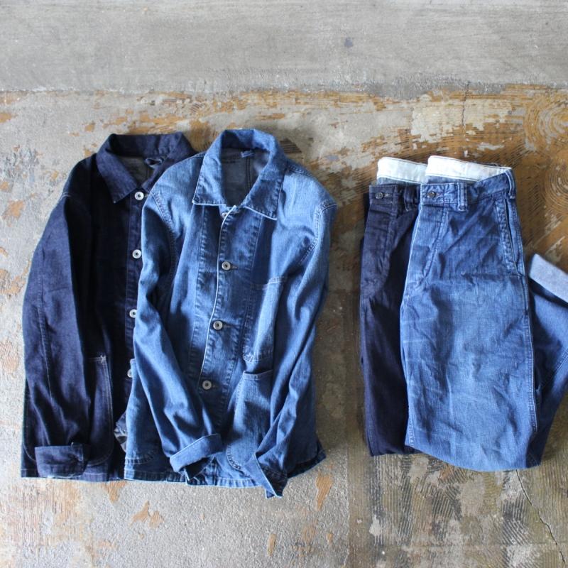 USMC DENIM WORK JACKET & PANTS for Men's