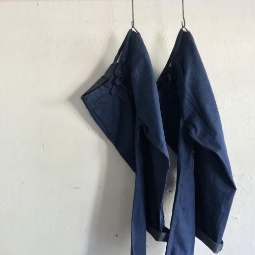 DENIM EASY PANTS
