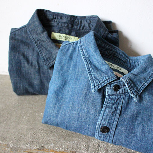 DENIM TRAVAIL SHIRTS for MEN
