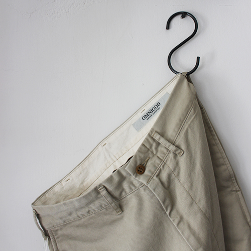WIDE CHINO PANTS for ladies