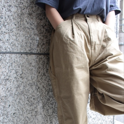 TAPERED PAINTER PANTS