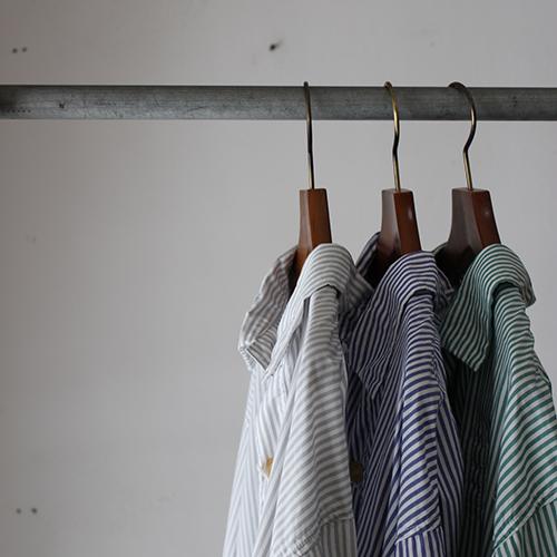 STRIPE SWEDISH LONG DRESS