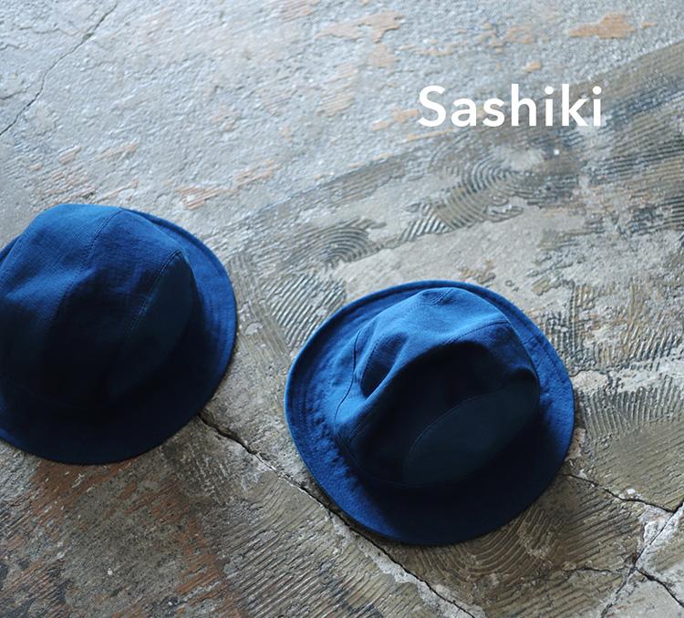 Sashiki | サシキパッチワーク藍染デニムハット 【unisex】
