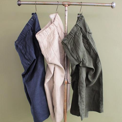 Linen Baker Culottes/Product Description