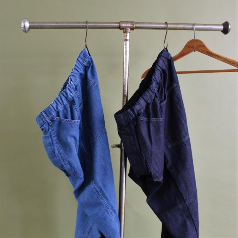 Light Denim PW Easy Pants/Product Description