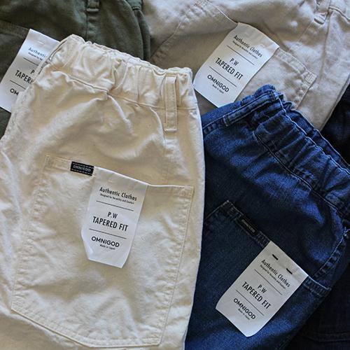 PICK UP ITEM / PW EASY PANTS
