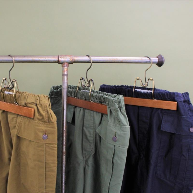 Wide Cargo Easy Pants/Product Description