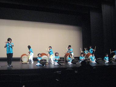 和太鼓の発表会