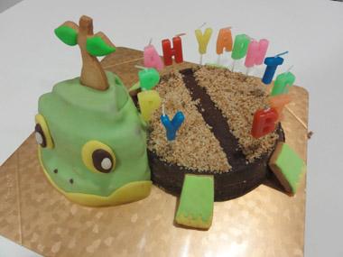 キャクターケーキ