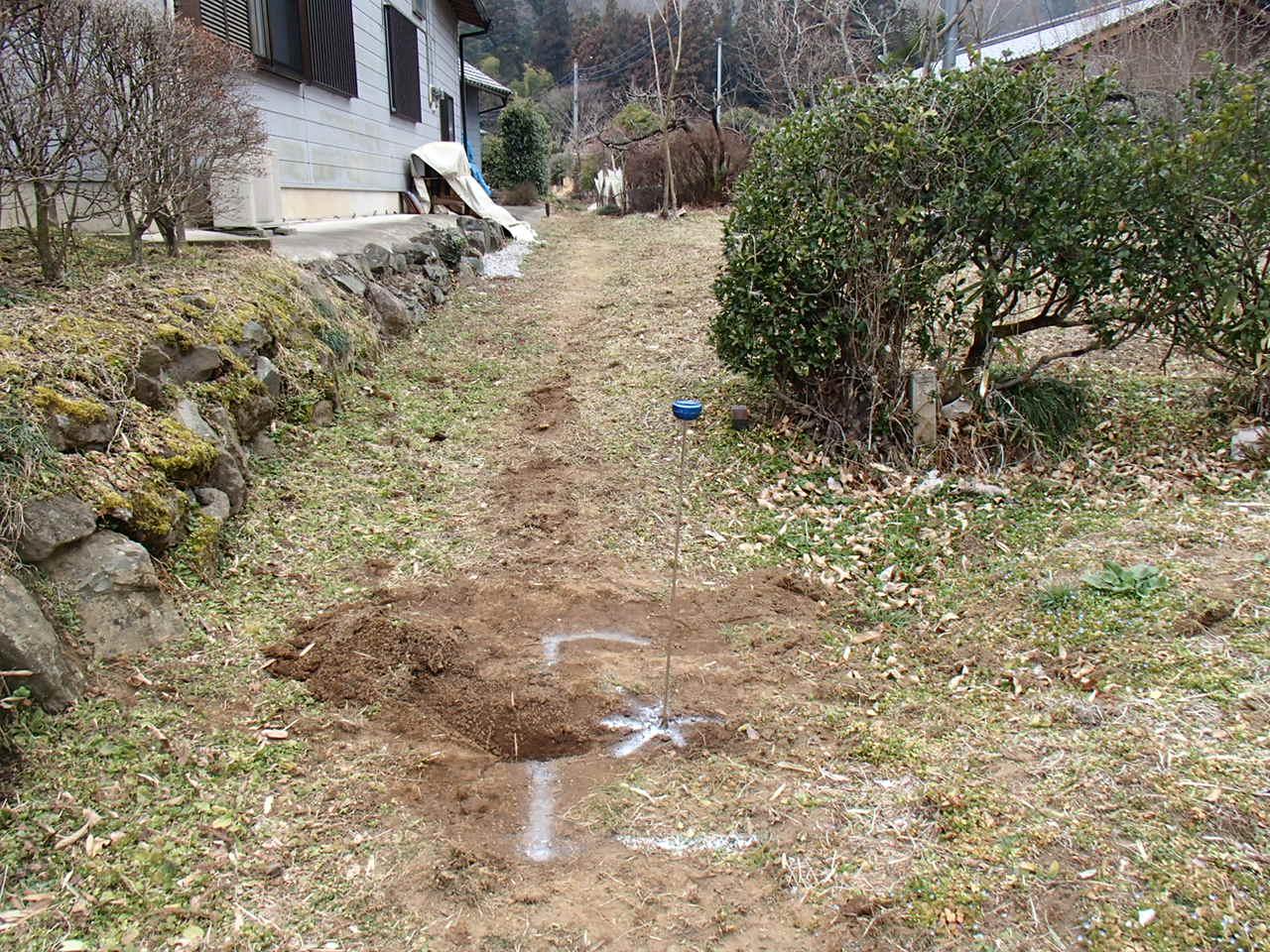 配水管漏水