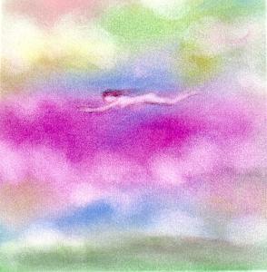 夢・泳ぐように 飛ぶように