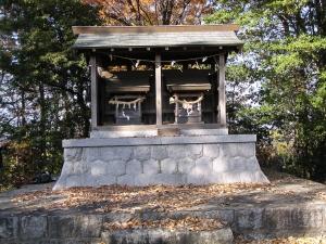 秋葉・金毘羅神社のお社