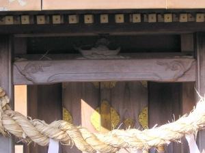 金毘羅さんの祠アップ