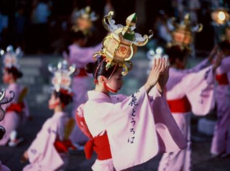 山鹿灯篭祭り