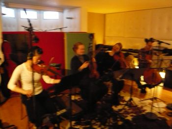 Strings quartet!