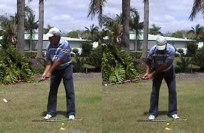 オジー・モア−テークバック−ボディスイング、アームスイング−オジーモアのゴルフレッスン