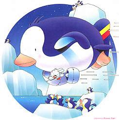 カレンダー ペンギン