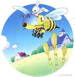 ミツバチ 春