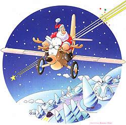 サンタクロース クリスマス ゆきだるま