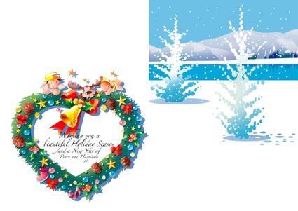 クリスマスカード イラスト