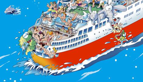 船旅 客船