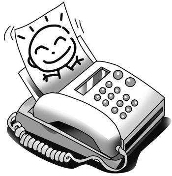 fax イラスト