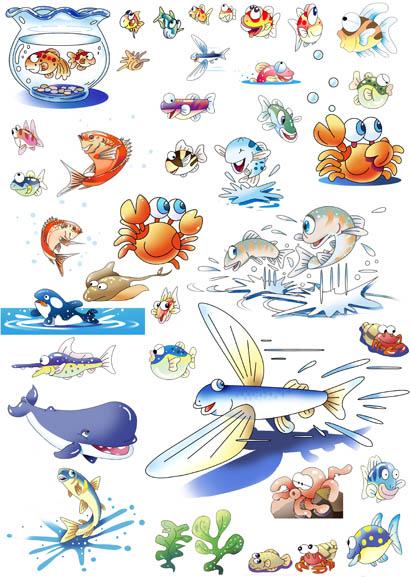 魚 鯛 シャチ 熱帯魚 イラスト