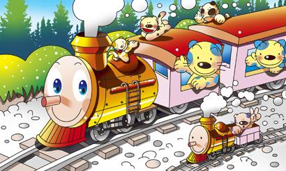 蒸気機関車 SL 機関車トーマス