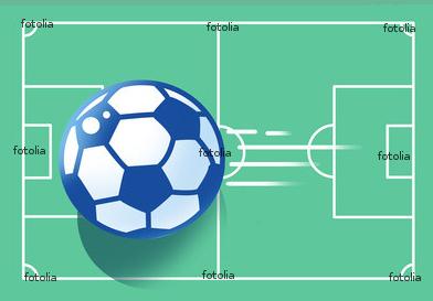 サッカー ボール サッカーコート