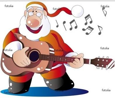 サンタクロース クリスマス ギター 歌