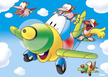 飛行機 キャラクター