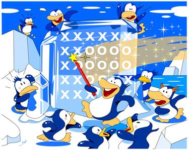 ペンギン 文字化け