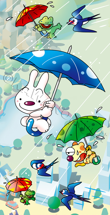 ウサギ キャラクター