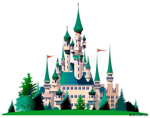 お城 中世 ヨーロッパ シンデレラ城